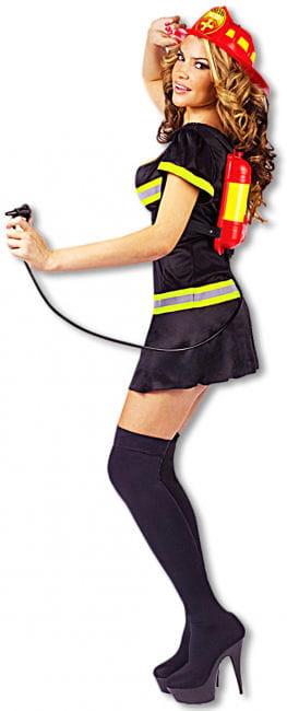 Sexy Feuerwehr Lady Kostüm 38/40 SM S/M