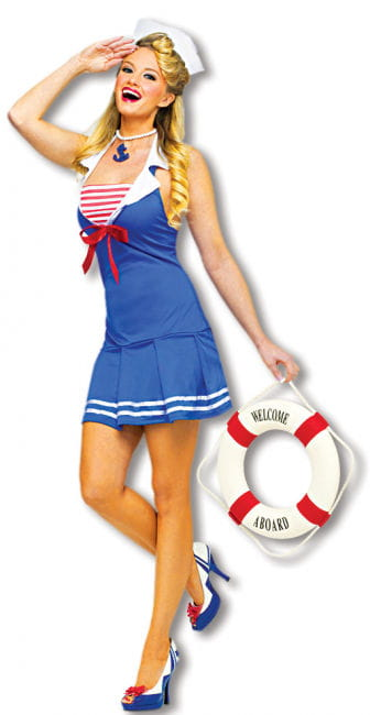Sexy Sailor Kostüm