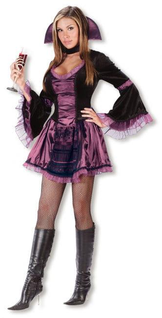 Sexy Vampirbraut Kostüm S/M