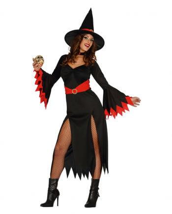Hexen Kostüm Sexy Witch schwarz/rot