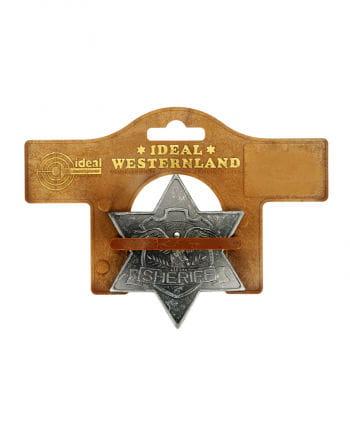 Antiker Sheriff Stern aus Metall