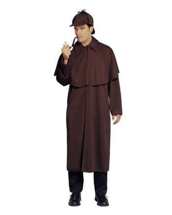 Sherlock Holmes Mantel mit Mütze