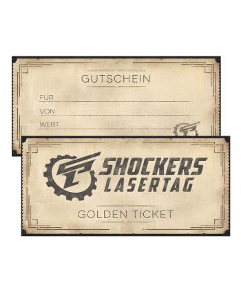 Shockers Lasertag Gift Voucher