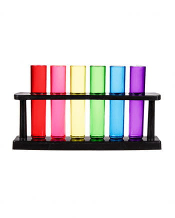 Shooter-Set Regenbogen Reagenzglas