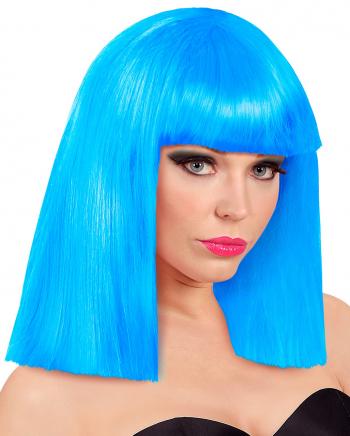 Roxy Showgirl Perücke Blau
