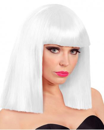 Roxy Showgirl Perücke Weiß