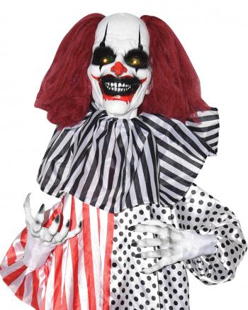 Sich Schüttelnder Horror Clown mit Licht & Sound