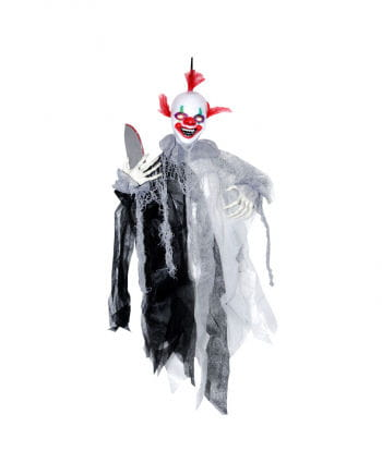 Horror Clown mit Sound & Bewegung