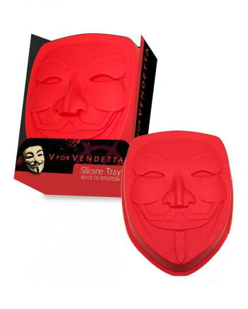 Silicone baking mold Vendetta mask
