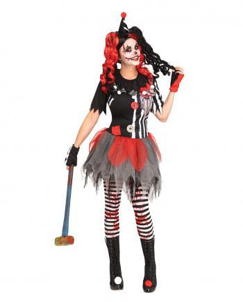 Sinister Circus Clown Kostüm für Frauen