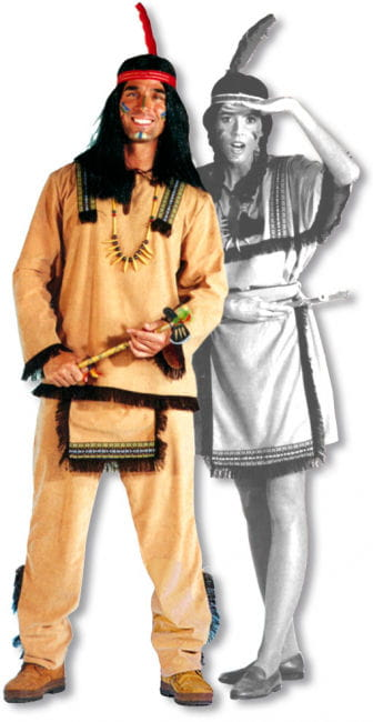 Sioux Indian Costume M