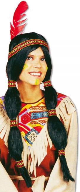 Sioux Indianerin Perücke