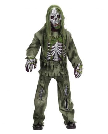 Skeleton Zombie Deluxe Child Costume