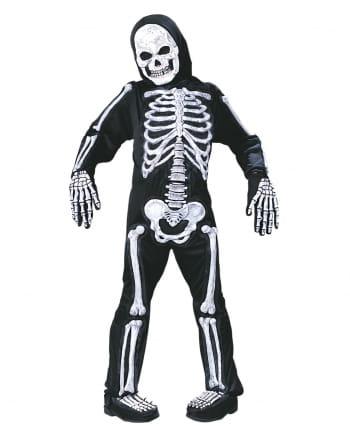 Skelett 3D Kinderkostüm Glow in the Dark