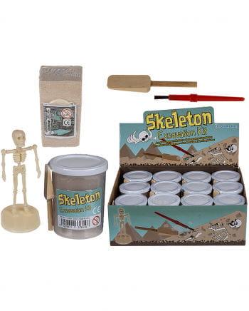 Ausgrabungsset Skelett