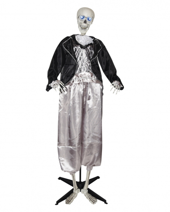 Bräutigam Skelett Dekofigur 160cm