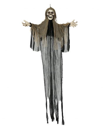 Skeleton Hanging Figure With Light & Sound 190cm