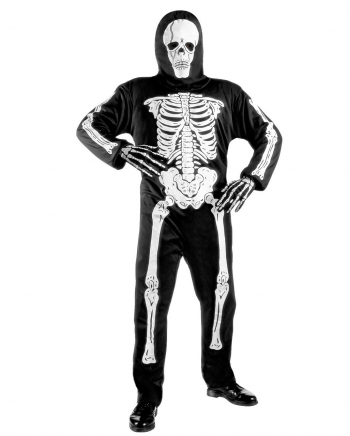 Skeleton Child Costume With Skull Mask