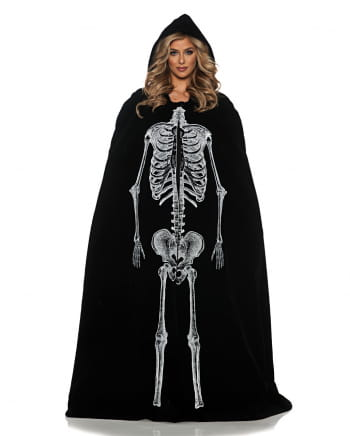 Skelett Cape Deluxe