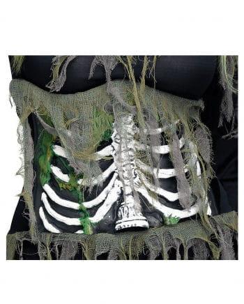 3D Zombie Rippen Korsett
