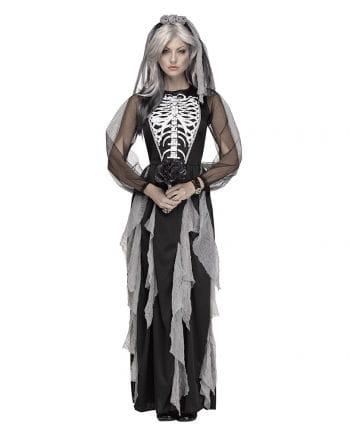 Skeleton Bride women's costume