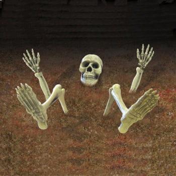 Skelett-Dekoration für den Garten