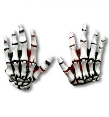 Skeleton Gloves Junior