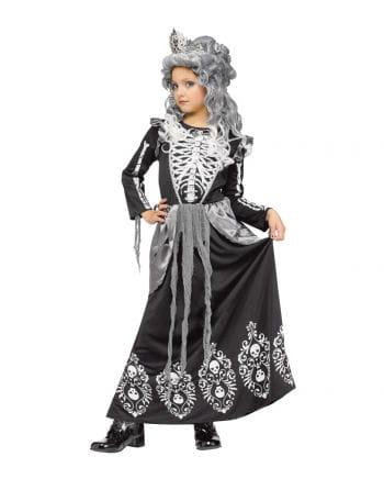 Süßes Skelett Königin Kinderkostüm
