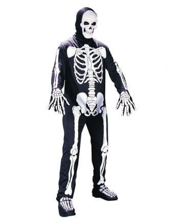 Skelett Ganzkörper Kostüm