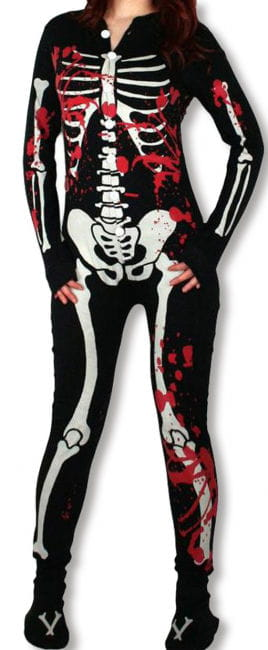 Skeleton Pyjamas Bloody