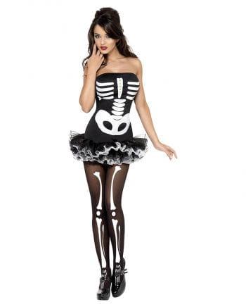 Ballet skeleton Kostm