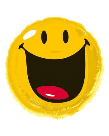 Folienballon Smiley