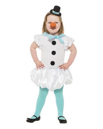 Snow Girl Child Costume