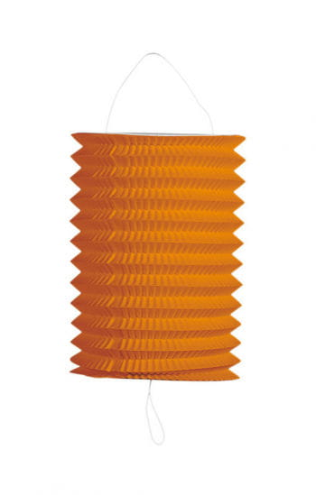 Summer party lantern orange