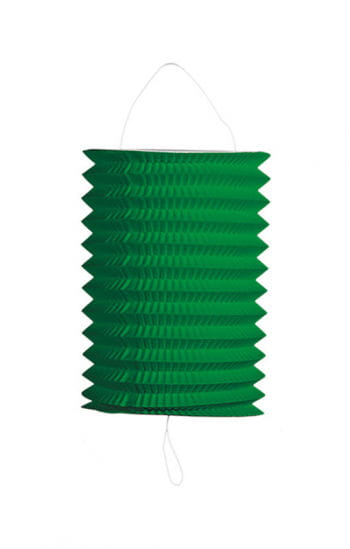 Festtags Lampion grün