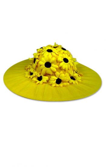 Hut mit Sonnenblumen