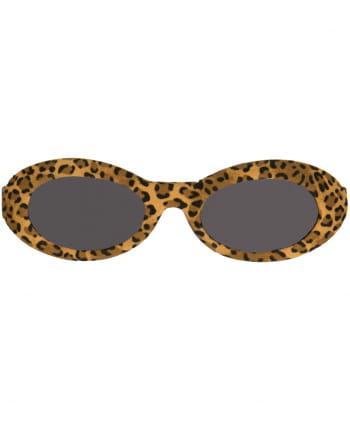 50er Jahre Leopard Sonnenbrille