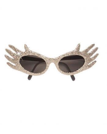Space Jam Glitter Sunglasses Silver