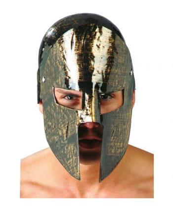 Spartan helmet made of plastic