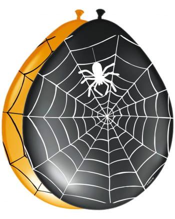 8 Spinnen Luftballons