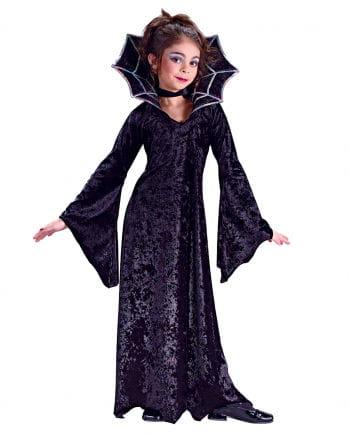 Spider Vampire Princess Child Costume Large