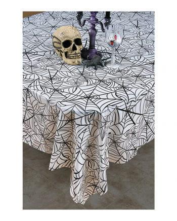 Cobwebs Halloween tablecloth