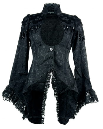 Brocade Tailcoat For Women