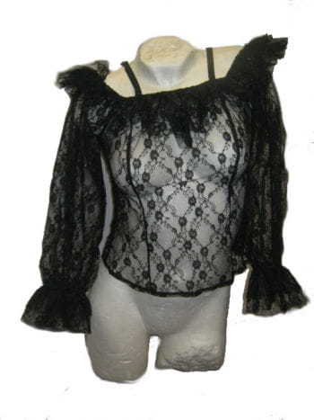 Black Lace Top Medium