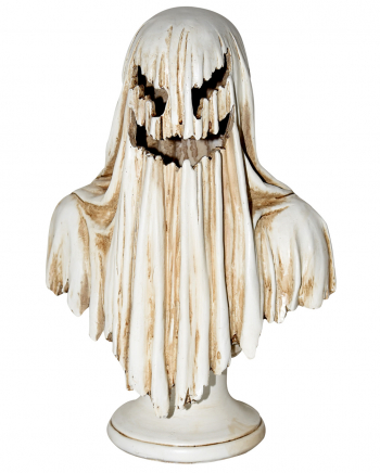 Spooky Ghost Statue With LEDs 34 Cm