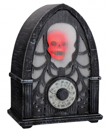 Spooky Radio With Sound, Light & Movement