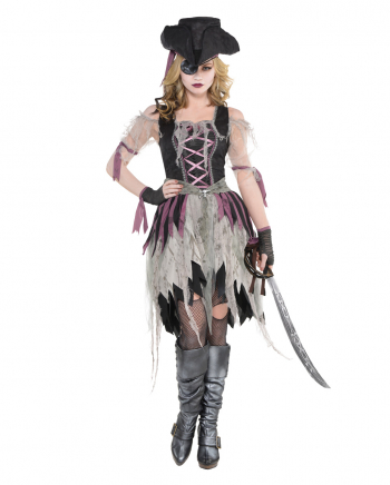 Spooky Pirate Lady Costume