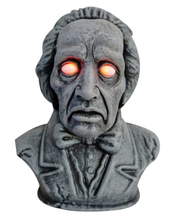 Talking Ghost Bust With Light 33 Cm