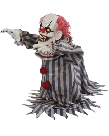 Animatronic attackierender Horror-Clown
