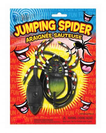Springende Spinne Scherzartikel